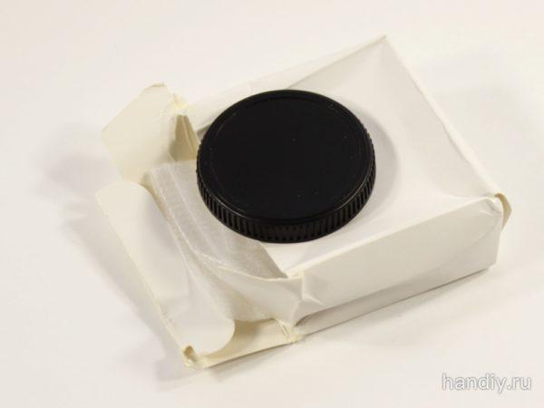 Фотография Коробка с переходником фотга Fotga м39-м4/3 для фотоаппарата Панасоник Олимпус Panasonic DMC-GF6 Olympus