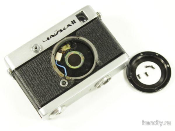 Фотография Фото Чайка 2 и кольцо крепления объектива с резьбой м39
