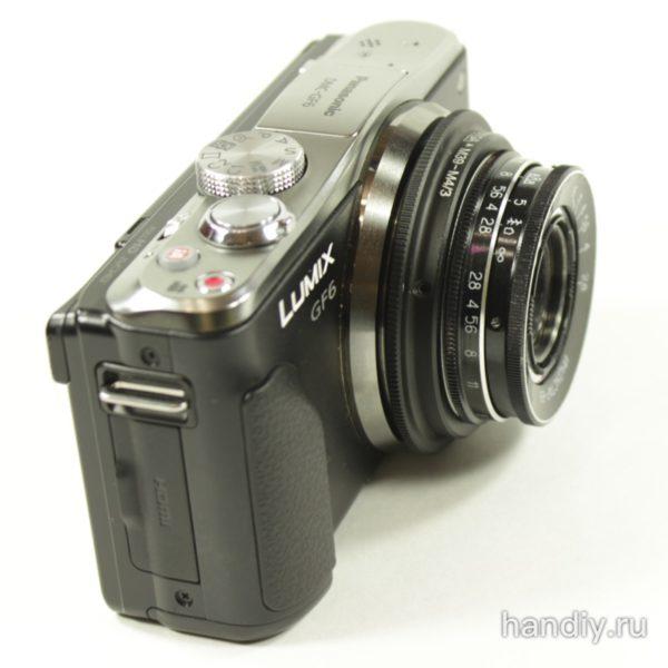 Фото Olympus Panasonic m4/3 Индустар 69