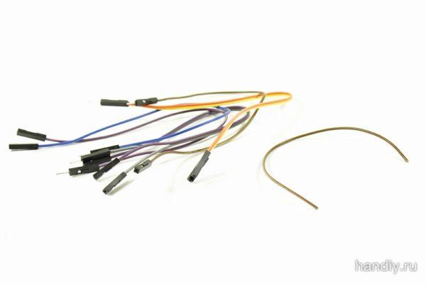 Фотография фото провода для Ардуино