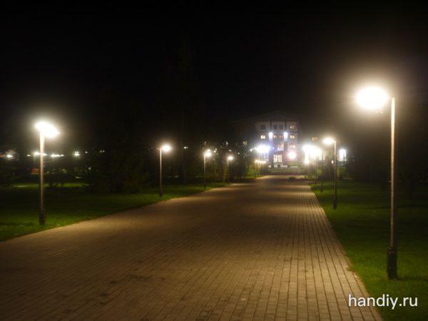 Фотография ночь снято на систему микро 4/3 панасоник gf5